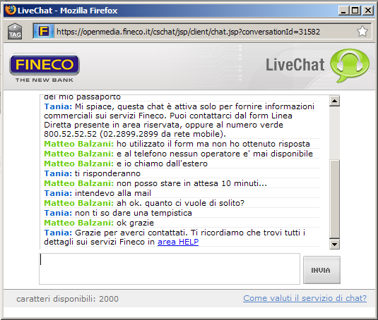 chat_fineco
